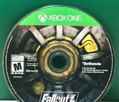 Fallout 4 (Microsoft Xbox One, 2015) DISC ONLY 17907