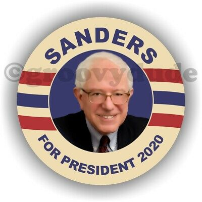 "Bernie Sanders For President 2020 Political Campaign 2-1/4"" Pin Pinback Button"