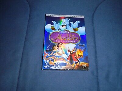 Aladdin (DVD, 2004, 2-Disc Set, Special Platinum Edition).