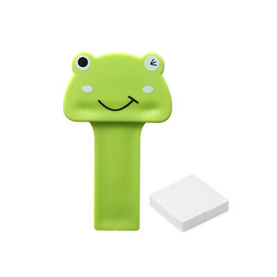 Cartoon Toilet Seat Cover Lifter Handle Hygienic Clean Lift Self-adhesive