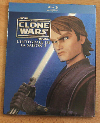 blu ray - Star Wars - The Clone Wars - Saisons 3