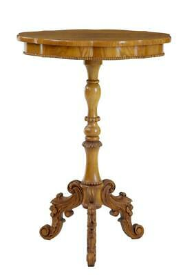19Th Century Swedish Elm Shaped Occasional Table