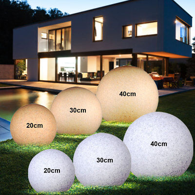 Light Balls Garden Path Sand Stone Design Lights Exterior Spike Lights Granite
