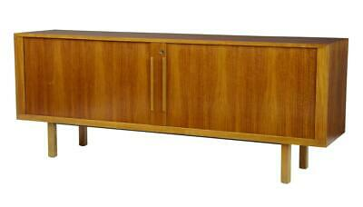 20Th Century Swedish Teak Tambour Front Sideboard By Atvidabergs