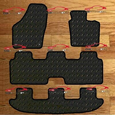 Vw Sharan 2010-On Fully Tailored 3Mm Rubber Heavy Duty Car Floor Mats