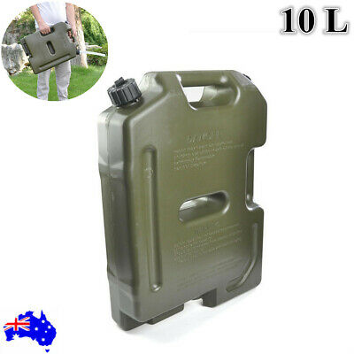10L Jerry Can Joinable Fuel Container With Holder Spare Fuel Container Heavy Dut