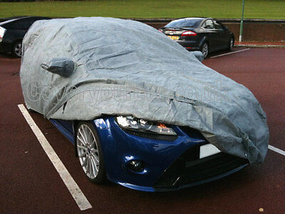 Ford Focus RS Mk2 or RS Mk3 Stormforce Outdoor Car Cover with ALARM
