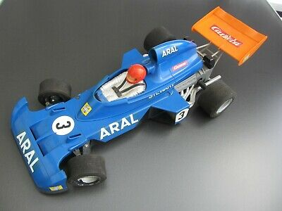 Carrera Formel 1 - Ford Tyrell - Jackie Stewart , ARAL , 70 er Jahre, RC, 1:10