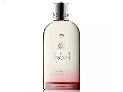Molton Brown London Rosa Absolute Sumptuous Bathing Oil 200ml *NEW*