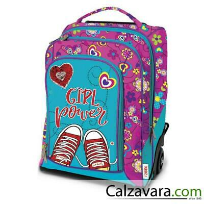 392b175da0 Zaino Trolley Dream Skin Over Scuola Elementare e Viaggio 35 Lt Girl Power