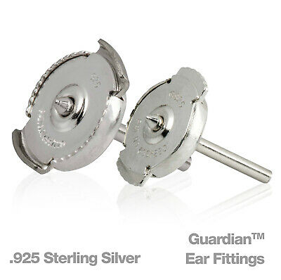 Guardian™ .925 Sterling Silver Earring Fitting SOLD INDIVIDUALLY