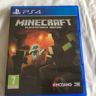 Minecraft Sony Playstation 4 Ps4 Game