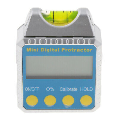 Digital Bevel Box Gauge LCD Display Angle Finder Protractor Magnet Base