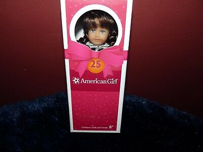American Girl Doll Mini Molly Holiday 25th Anniversary Soft Body NEW!! Retired