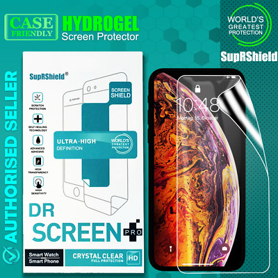 For Apple iPhone X / XS SupRShield HYDROGEL AQUA FLEX Crystal Screen Protector