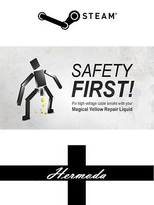 Safety First! Steam Key - for PC Windows (Same Day Dispatch)