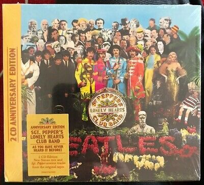 The Beatles Sgt. Pepper's Lonely Hearts Club Band 50th ANNIVERSARY (2xCD) SEALED