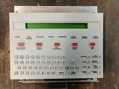Notifier KDM-2 Keypad/Display Module for NFS-640 Fully Functional Pre-owned