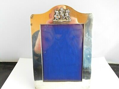 Nice Quality Vintage English Sterling Silver Photo Frame