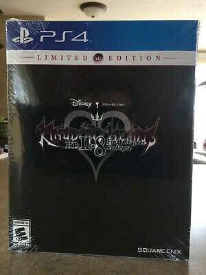 NEW Kingdom Hearts HD 2.8 Final Chapter Prologue Limited Edition PS4
