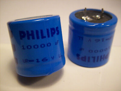 051 67103 Used WARRANTY 40 V Phillips Electrolytic Capacitor 10000 uF