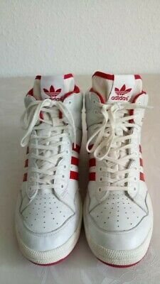 Pro Adidas 41 Rot High Tops Schuhe Weiß Sneaker Retro Conference G95976 Hi BdxeCo