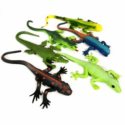 Stretchy Lizard Toy - 6 Designs to Choose From - Party Bag Filler Sensory Toy