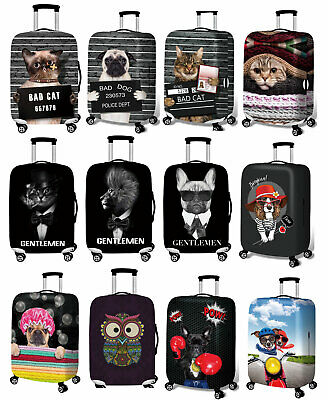 """Elastic 18""""-32"""" Dustproof Trolley Case Protective Travel Thicker Luggage Covers"""