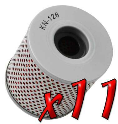 11 Pack: Oil Filters Pro Series Powersports Cartridge K&N KN-126