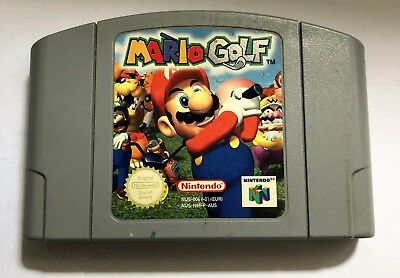 N64 Mario Golf Nintendo 64 Game Cartridge AUS PAL AUS SELLER