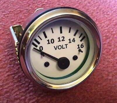 VOLTMETER  Gauge 52 MM Diameter , Classic / Kit Car New