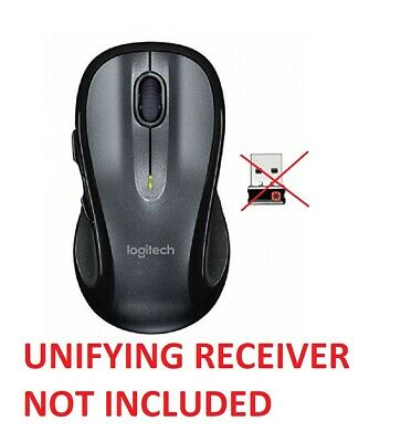 LOGITECH M510 BLACK Wireless Laser Mouse for PC/MAC with