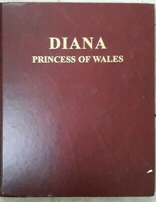 Princess Diana Pictorial Edition Newspaper Hard Cover Book