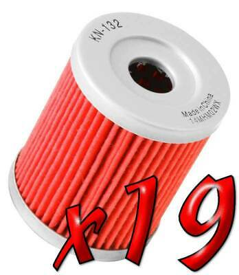 19 Pack: Oil Filters Pro Powersports Cartridge - For SYM, , Yamaha Scooter