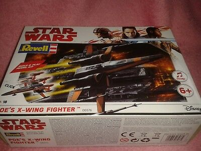 REVELL STAR WARS Model-AT-Act Walker-Millennium Falcon-Poe /'s x-wing Fighter