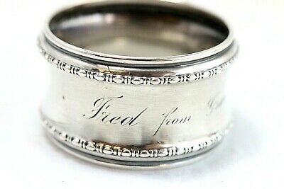 Antique Gorham Sterling Silver To Fred From Grandpa Rodgers 1906