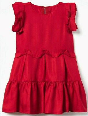 Gymboree nwt Christmas Holiday red fancy girls dress size 4