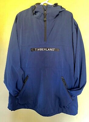 f45474e8def Vintage Timberland Performance 90s Pullover Windbreaker Hoodie Jacket Men XL