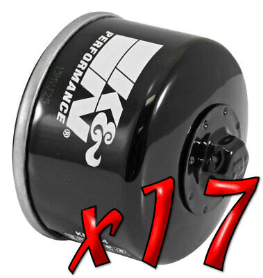 17 Pack: Oil Filters Pro Powersports Canister - For , , , Piaggio Scooter