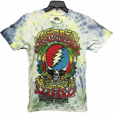 bbb76f961967 NEW Authentic Men s Grateful Dead Logo 15 Anniversary Licensed Tie Dye T- Shirt