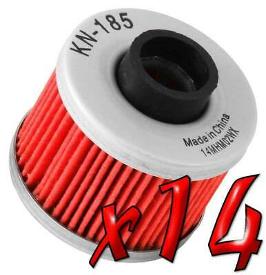 14 Pack: Oil Filters Pro Powersports Cartridge - For , BMW, Peugeot Scooter