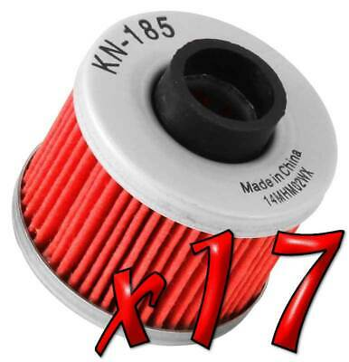 17 Pack: Oil Filters Pro Powersports Cartridge - For , BMW, Peugeot Scooter
