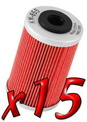 15 Pack: Oil Filters Pro Powersports Cartridge - For , Husqvarna, KTM MC