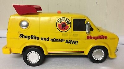 Vintage 1990s Shop Rite Van Electronic Bank Noises Sounds Works Stopper Yellow