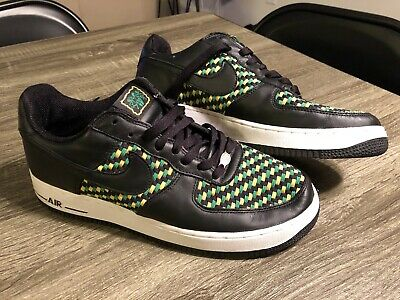 info for cd70f 3c9e7 2005 Nike Air Force 1 Low Jamaican Black   Green Men s Size 10 (309096-