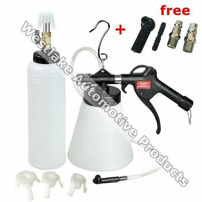 Pneumatic Brake Fluid Bleeder Kit Car Air Extractor Clutch Oil Bleeding Tool