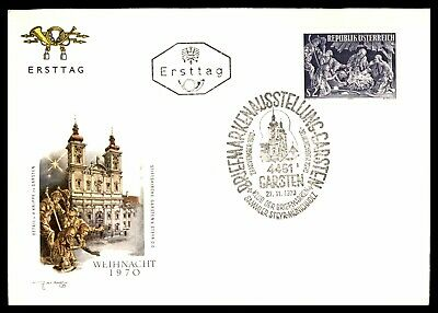 Nice Austria 1972 Gurk Diocese Fdc First Day Cover #c18934 Buy One Give One Stamps