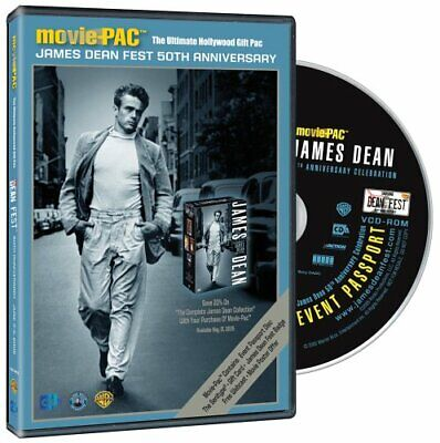 James Dean Movie-PAC: The Ultimate Hollywood Gift pack NEW!
