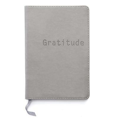 Faux Leather Softcover Dotted Notebook or Journal for Organization Gratitude
