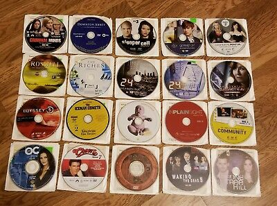 Mixed lot of 20 Used DVDS  Various Genres In Sleeves  TV Series DRAMA, ACTION